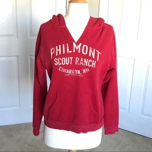 JanSport Philmont Scout Ranch Red Hoodie